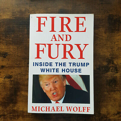 AU7.29 • Buy Fire And Fury Inside The Trump White House Michael Wolff Paperback 2018