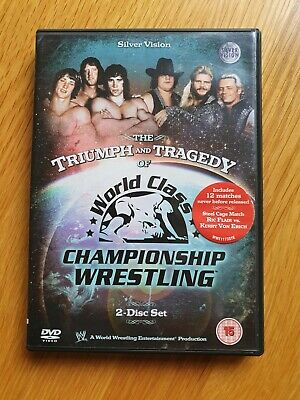 £3.75 • Buy WWE: The Triumph And Tragedy Of World Class Championship Wrestling DVD Von Erich