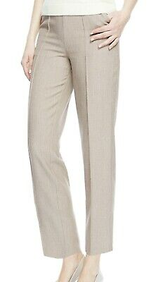 £7.99 • Buy M&s Ladies Size 8 10 20 24 High Rise Straight Leg Elastic Waist Pull On Trousers