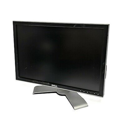 £24.65 • Buy DELL 2007WFPb 20.1  Inch LCD 1680 X 1050 16:10 Display Monitor Screen + Cables