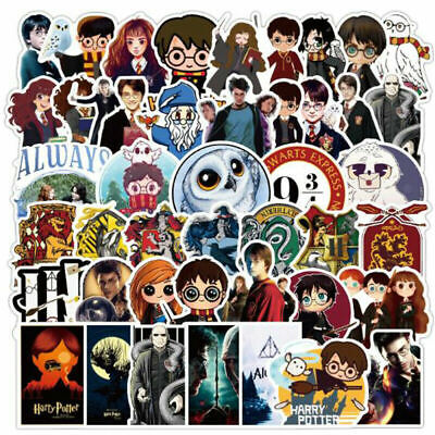 £3.59 • Buy 50X Harry Potter Stickers Pack Skateboard Luggage Laptop Vinyl Graffiti Decals