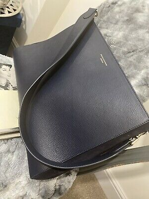 £155 • Buy Stunning ASPINAL Blue Leather Bag