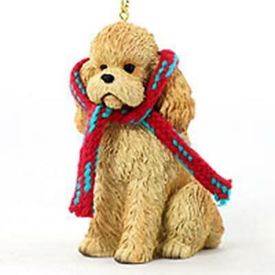 £11 • Buy LARGE Apricot Poodle Christmas Decoration Ornament Gift/Present Dog
