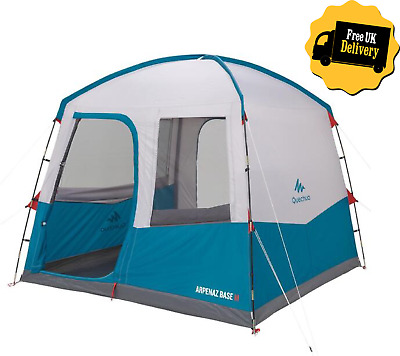 £139.95 • Buy QUECHUA Arpenaz Base | 6 Man Person Living Area Camping Tent Shelter Living Room