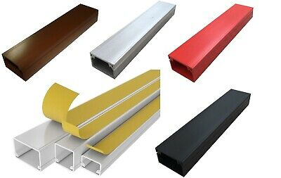 £5.99 • Buy Mini Trunking Self Adhesive Cable Management Wire Cover PVC Hide Conduit Channel