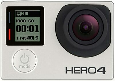 $ CDN36.44 • Buy GoPro Hero 4 Silver Edition 4K Action Camera Waterproof With LCD Touchscreen