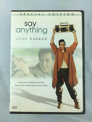 AU7.93 • Buy Say Anything (DVD, 2006, Special Edition) John Cusack 1980s Classic