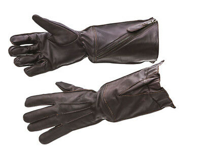 £49.99 • Buy WW2 RAF Flying Gloves Pattern 41 Brown Leather - Repro - Large