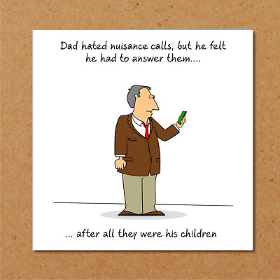 £2.97 • Buy Funny Birthday / Valentines / Fathers Day Card For Husband Dad - Humour Bin