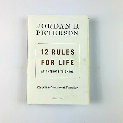 AU27.49 • Buy 12 Rules For Life An Antidote To Chaos By: Jordan B. Peterson (Hardcover)