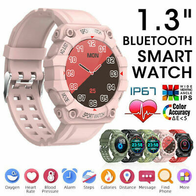 AU23.81 • Buy Bluetooth Smart Watch Phone Mate Fitness Tracker For Android IPhone Waterproof