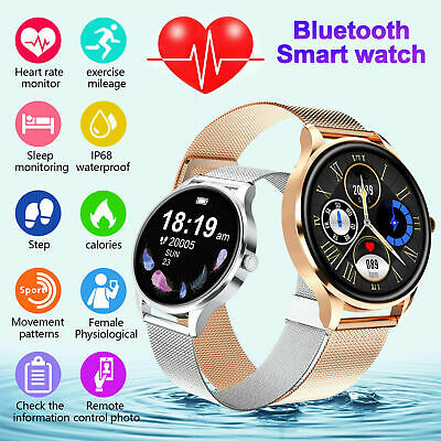 AU43.62 • Buy Women Gift Waterproof Smart Watch Heart Rate Bracelet For IPhone Android Samsung