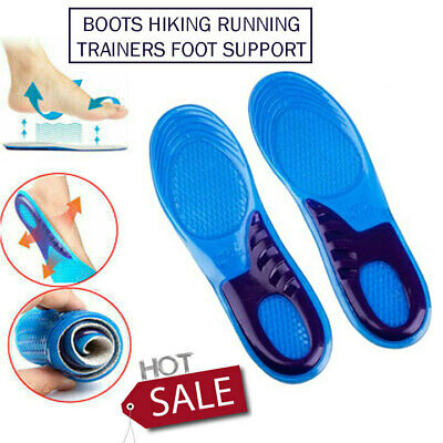 £5.35 • Buy CSL Work Boot Insoles Hiking Trainer Inner Soles, Foot Inserts Silicone Gel Size