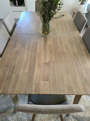 AU1999 • Buy Nick Scali Agoura Dining Table And 8 Chairs