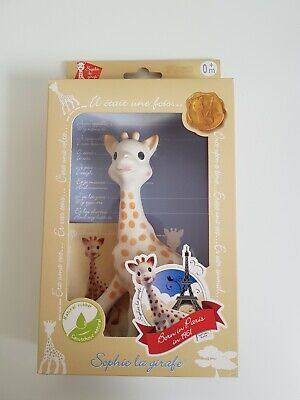 £14 • Buy Sophie The Giraffe Teether With Squeaker/Natural Rubber Teether/Babies Age 0+