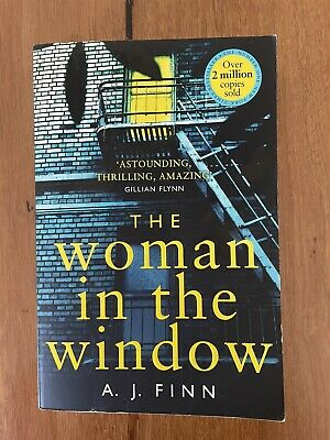 AU13 • Buy The Woman In The Window By A. J. Finn (small Paperback)