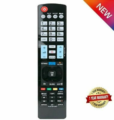£5.19 • Buy REPLACEMENT FOR LG TV Remote Control 42LF2500 42LF2510 42LF7700 42LG2100