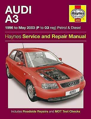 £5 • Buy Audi A3 Petrol And Diesel Service And Repair Manual: 96-03 By Haynes Publishing…