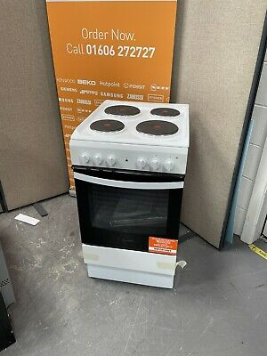 £150 • Buy Indesit IS5E4KHW 50cm Single Oven Electric Cooker - White HW175121