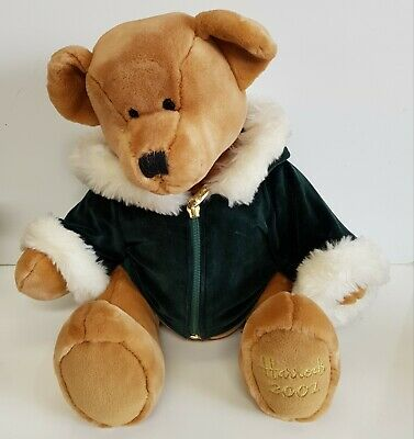 £9.99 • Buy Harrods 2001 Annual Foot Dated Christmas Bear , In Great Condition!