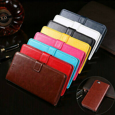 AU8.99 • Buy For Apple IPhone 6 6s 7 8 Plus SE 2020 Leather Wallet Flip Case Card Stand Cover
