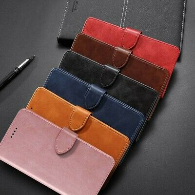 AU8.99 • Buy For IPhone 6 6s 7 8 Plus SE 2020 Wallet Flip Leather Case Card Shockproof Cover