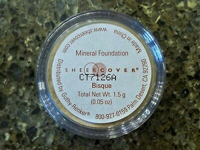 £21.24 • Buy Sheer Cover BISQUE Mineral FOUNDATION ~ Travel Size 1.5g / .05 Oz ~ NEW & SEALED