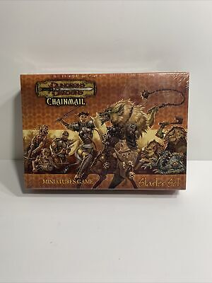AU92.19 • Buy Dungeons And Dragons Chainmail Miniatures Game Starter Set New Sealed