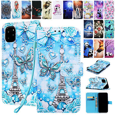 AU9.59 • Buy For IPhone 12 11 Pro Max XS XR 8 7 Plus SE2 Luxury Leather Wallet Case Cover