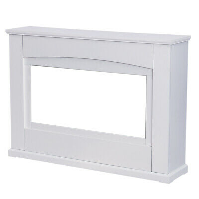 £102.95 • Buy White Fire Surround Wooden Fireplace Decor Mantelpiece For Inset Electric Fires