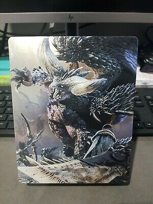 AU48.50 • Buy Monster Hunter World PS4 Game PlayStation Like New  Free Postage Steel Book Case
