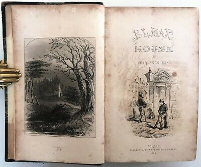 £8.50 • Buy 1853 FIRST EDITION Dickens BLEAK HOUSE Illustrated H.K.Browne PHIZ 39 Plates