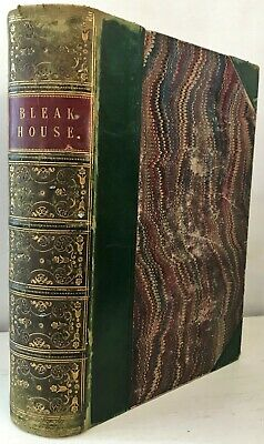 £20 • Buy 1853 FIRST EDITION Dickens BLEAK HOUSE Illustrated H.K.Browne PHIZ 39 Plates