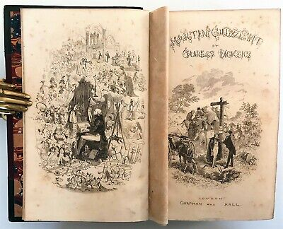 £10.51 • Buy 1844 FIRST EDITION Dickens MARTIN CHUZZLEWIT Life Adventures PHIZ 39 Plates