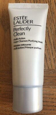 £5.95 • Buy New ESTEE LAUDER Perfectly Clean Multi-Action Foam Cleanser/Purifying Ma$k 30ml