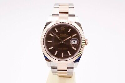 $ CDN19176.51 • Buy Rolex Datejust 41 126331 Chocolate Dial Box And Papers 2021 Unworn
