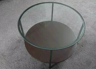£10 • Buy Round Glass Coffe Table