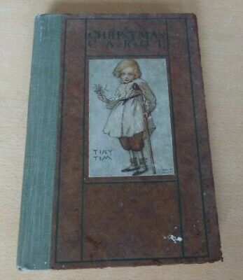 £9.99 • Buy Collectible Charles Dickens Christmas Carol Illustrated By Ethel F Everett 1920