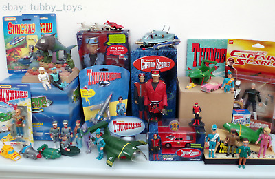 £35 • Buy Matchbox Thunderbirds & Stingray Action Figures, Diecast Toy Vehicles & Playsets