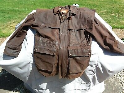 $65.95 • Buy Outback Trading Co 2100 SWAGMAN Mens Cotton Short Oilskin Duster Large - Brown