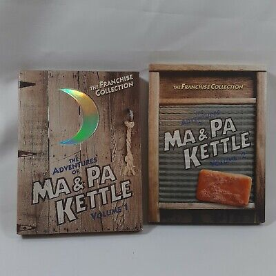 $9.95 • Buy The Adventures Of Ma And Pa Kettle - Volume 1 & 2 (DVD, 2004)