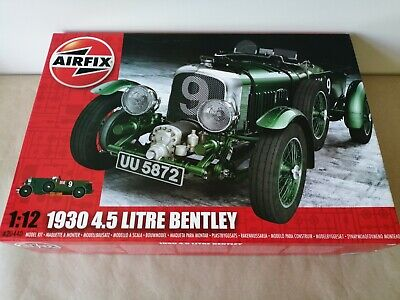 £109.99 • Buy Airfix A20440 - 1:12 1930 4.5 Litre Bentley Blower - Factory Sealed Box
