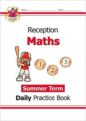 £6.99 • Buy Reception Maths Daily Practice Book Ages 4-5 With Answer Summer Term CGP