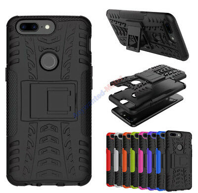 AU8.76 • Buy For OnePlus 3 3T 5 5T Case Shockproof Hard Armor Hybrid Rugged Stand Back Cover