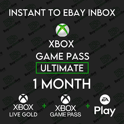 $ CDN5.56 • Buy 1 Month Xbox Game Pass Ultimate + Xbox Live GOLD + EA ACCESS | INSTANT 24/7