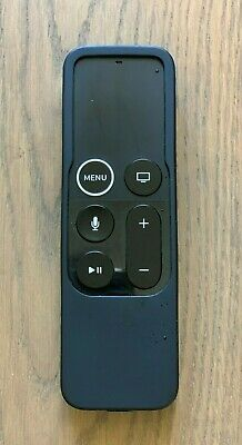 AU7.95 • Buy NEW - APPLE TV REMOTE SILICONE COVER - BLACK - 4th GEN - FREE POSTAGE