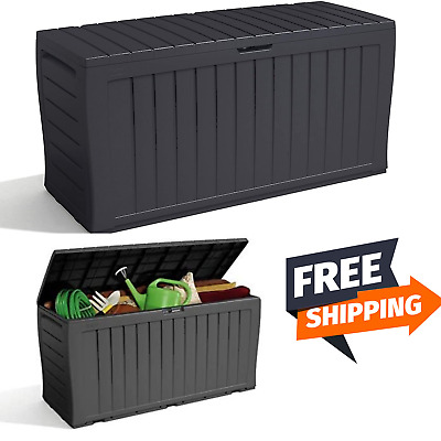 £48.98 • Buy Keter Xl Large Storage Shed Garden Outside Box Bin Tool Store Lockable