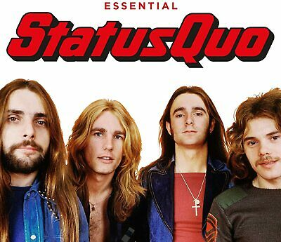 £4.99 • Buy STATUS QUO -  ESSENTIAL 3CDs (NEW/SEALED)  Best Of