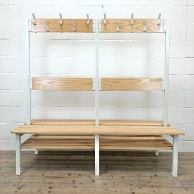 £295 • Buy Changing Room Bench And Coat Rack (M-2321) - FREE DELIVERY*