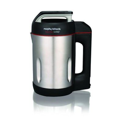 £40 • Buy Morphy Richards Saute And Soup Maker 1.6L - 4 Settings - Brushed Stainless Steel